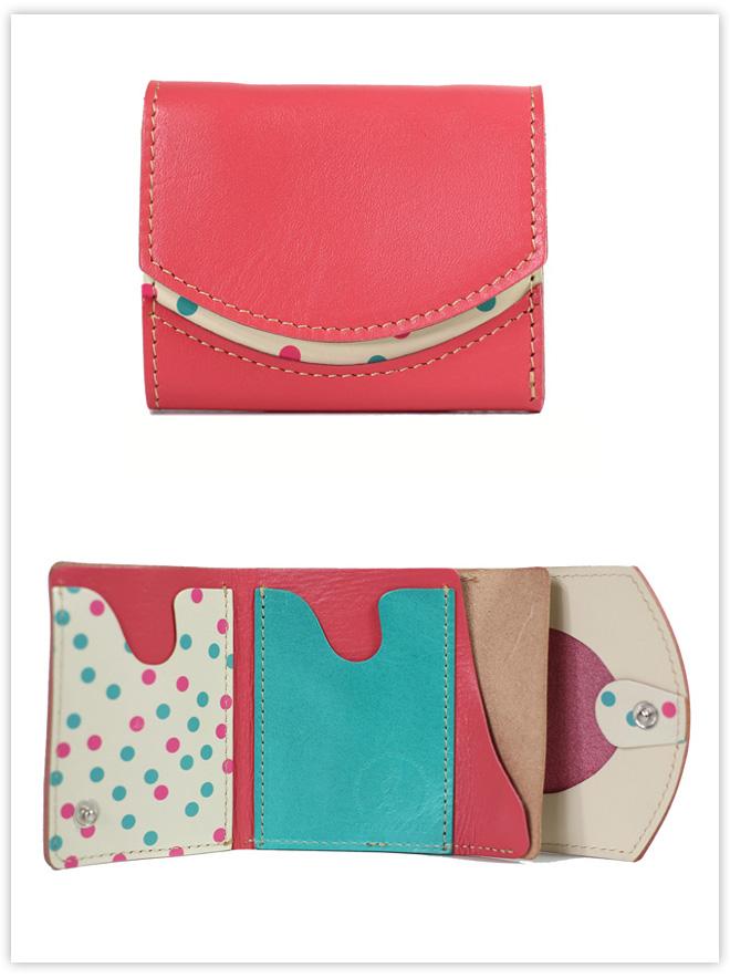 小さい財布 ピーチ嬢