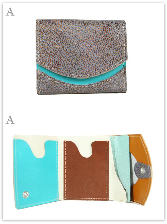 小さい財布 さばく:A