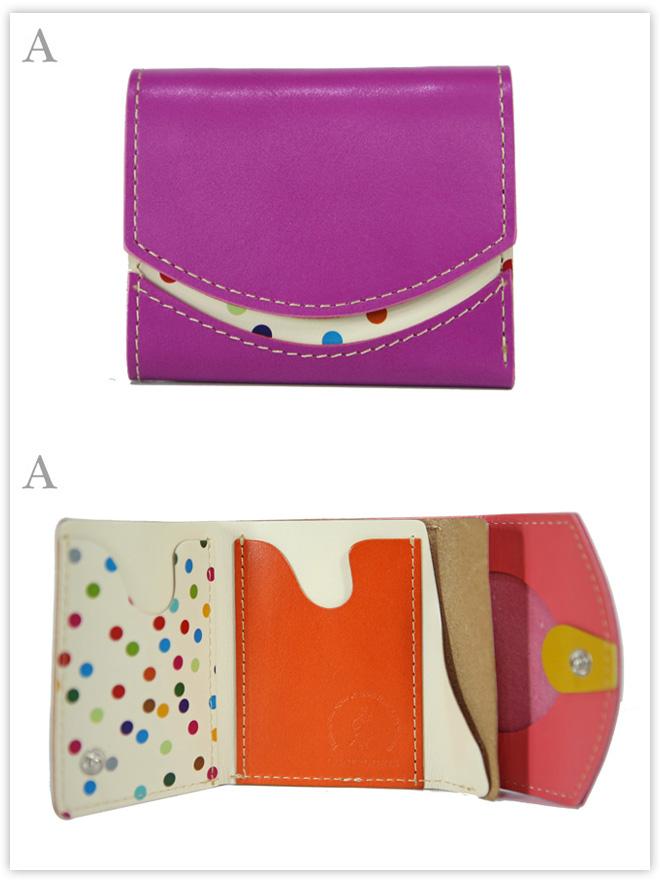 小さい財布 紫陽花:A