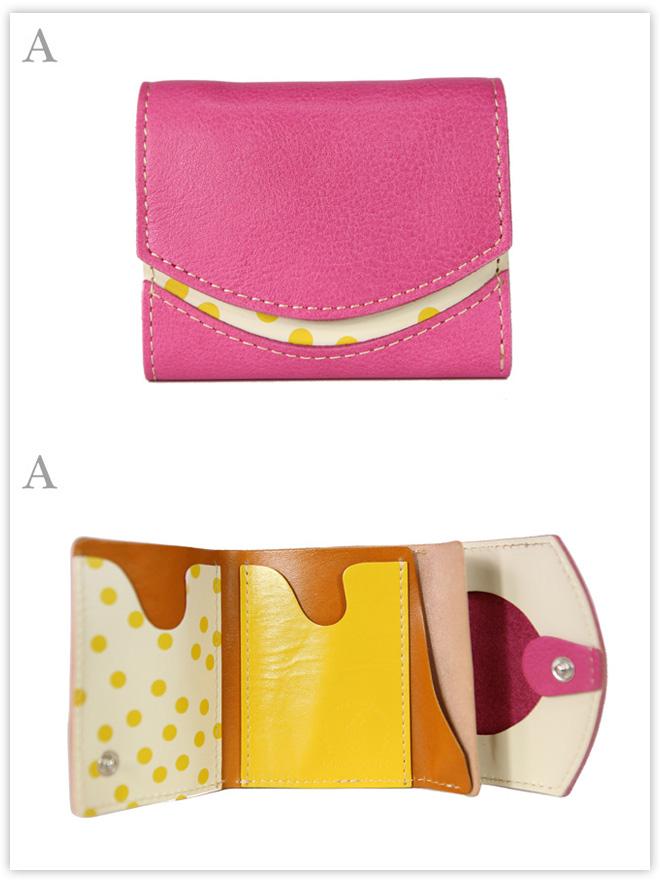 小さい財布 アプリコットジャム:A