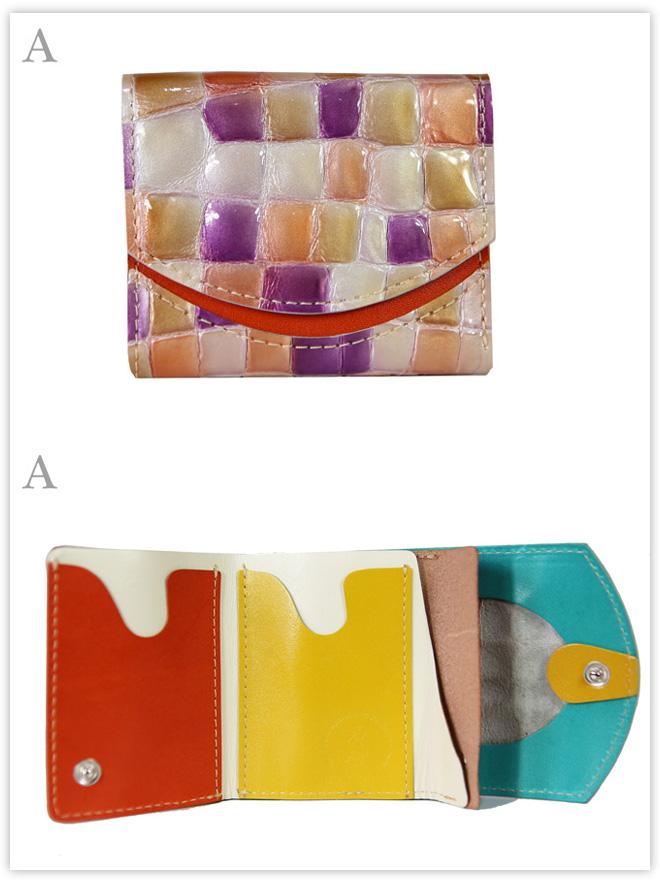 小さい財布 夏の朝焼け:A