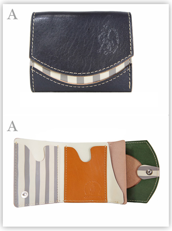 小さい財布 モビィ・ディック:A
