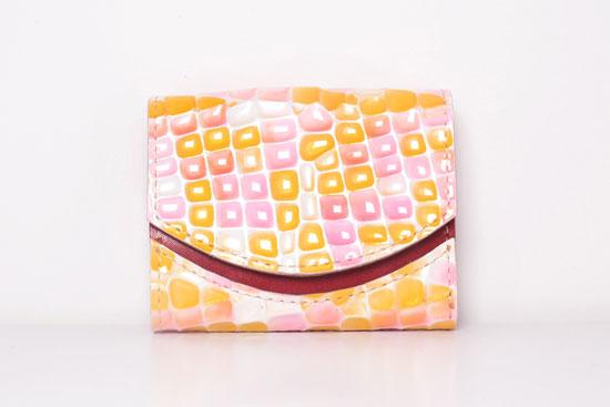 ミニ財布 ピンクグレープフルーツ