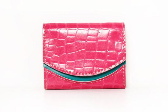 ミニ財布 ピンクの切符