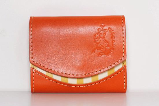 ミニ財布 persimmon