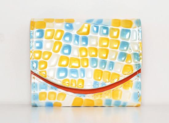 ミニ財布 オレンジの宝石