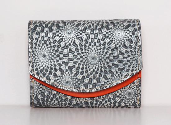 ミニ財布 Flocon de neige